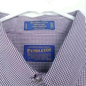 Pendleton Mens Size XXL Shirt Broadway Cloth